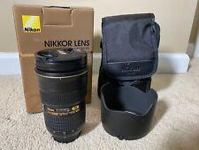 Nikon AF-S NIKKOR 24-70mm f/2.8G ED lens - Excellent