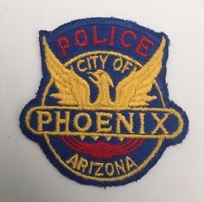 City of Phoenix Police, Arizona earlier type cloth back shoulder patch