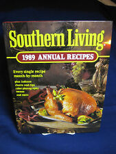Southern Living 1989 Annual Recipes, Hard cover, Great condition, 0848707966