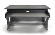 Zaor Miza Z | Producers Workstation Desk | Titanium Wengé Dark Grey