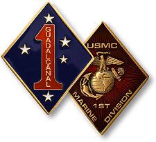 U.S. Marine Corps / 1st Marine Division - USMC Challenge Coin