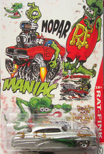 Hot Wheels CUSTOM SO FINE - Mopar Rat Fink Real Riders Limited Edition!