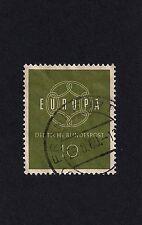 German Stamp1959 Eurostamp 10 (E2)