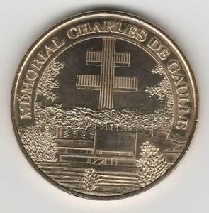 A 2010 TOKEN MEDAILLE MONNAIE DE PARIS -- 52 330 N°3 MEMORIAL CHARLES DE GAULLE