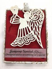Swarovski® Crystal Keepsake Decoration Merry Christmas Someone Special Ornament