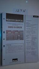 Sansui da-e90 e70 service manual original repair book stereo tape deck player