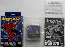 Game Gear - Spider-Man (NTSC, region free) Sega VERY GOOD CONDITION