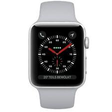 Apple Watch Series 3 GPS + LTE 42mm Silber Alu Sport Band Nebel