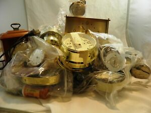 Lot of Various Clock Parts for Repair/Parts ONLY