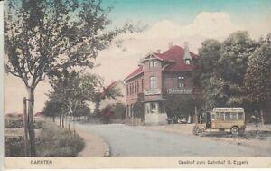 Ansichtskarte Niedersachsen   Barnten   Bahnhofs Hotel  Omnibus  1915  Bahnpost