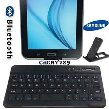 "For 7"" 8"" Samsung Galaxy Tab 2/3/4 Slim Wireless Bluetooth Keyboard+Stand Holder"