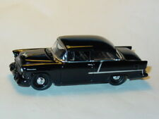 1955 55 CHEVROLET CHEVY BELAIR SEDAN COLLECTIBLE DIECAST TOY CAR -Black, LOOSE