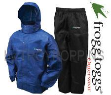 FROGG TOGGS RAIN GEAR-AS1310-112 MENS ALL SPORT BLUE/BLACK SUIT DOG WALKING WEAR