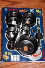 BOSCH HCD007 7 PIECE DAREDEVIL HOLE SAW BITS SET 5X FASTER TURBO TEETH DEEP CUP