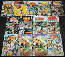 Vintage DC Bronze-Copper TEEN TITANS TITLES 159pc Mid-High Grade Comic Lot FN-NM