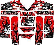 Yamaha banshee full graphics kit Red....THICK AND HIGH GLOSS