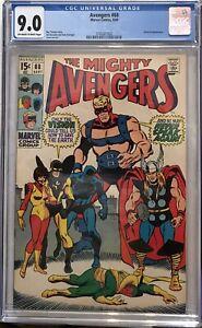 Avengers #68 CGC 9.0