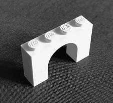 Lego Brick Arch 1 x 4  x 2 - 6182 in white - pack of 2