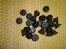 10 End Caps Plugs Bungs for  Handlebar Bar Black BMX MTB Bike 22mm