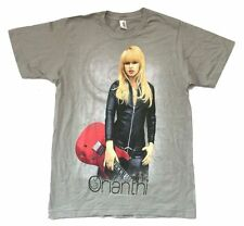 Orianthi Leather & Strings Tour 2010 Grey T Shirt New Official Soft