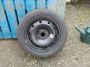 Renault Laguna 2000 To 2007 Steel Wheel And Michelin 205/55r16 Tyre 7mm Of Tread