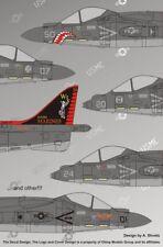 """Authentic Decals 1/48 AV-8B Harrier II/II+ """"The Dark Harriers"""" # 4862"""