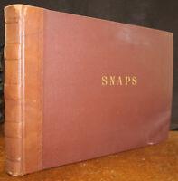 1940's Photo Album Cairo Durban Egypt Suez Vanal Heliopolis Sakhara 298 Photos