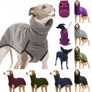 Pet Dog Puppy Winter Warm Clothes High Collar Jumper / Vest Coat Hoodie 6