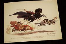 Ichabod and Mr Toad PUBLICITY FAN CARD 1949 2005 Walt Disney Studio Archives