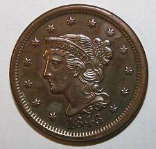 1845 US Large Cent D34