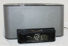 Sony Dream Machine lCF-CS10iP iPod Docking Radio Alarm Clock ~ Working No Remote