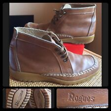 ROGUES : Quoddy Maine Rare Men's Handcrafted Leather Boots : UK 10.5