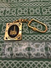 Brugge Bruxelles Belgium Spin Center Keychain FREE SHIPPING