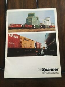 Vintage Canadian Pacific SPANNER magazine, Nov. - Dec. 1968, Vol. 7, No. 7