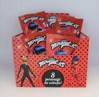 5 x BANDAI MIRACULOUS LADYBUG MINI FIGURES SURPRISE BAGS, PARTY BAG FILLERS.