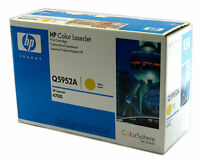 Genuine HP Q5952A Color LaserJet 4700 Yellow Toner - Blue & White, Damaged Box