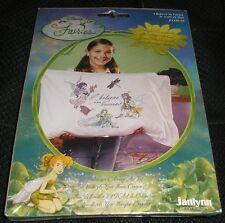 Janlynn Disney I Believe in Fairies Pillowcase Coloring Art Kit DIY Kids Crafts