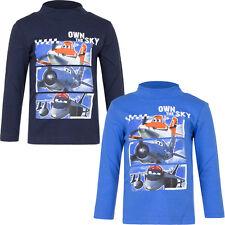Langarmshirt Jungen shirt Pulli Disney Planes Pullover blau 98 104 116 128 #90