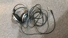 Sony MDR-XD100 Stereo Headphones Long Cord ~ with adapter - nearly new
