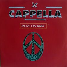 """7"""" 1994 PARTY KULT IN MINT- ! CAPPELLA : Move On Baby"""