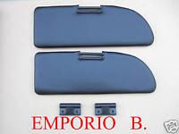 KIT Pantine Parasole colore NERO + Cerniere FIAT 500