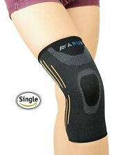 Compression Knee Sleeve Brace, Support, Joint/Pain Relief  FREE US Shipping