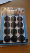 Protector adesivo feltro per mobili, contenitore con 12 cerchi di 20 mm circa