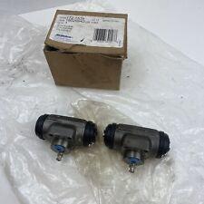 "✅ SET X2 NOS 1986-2003 GM Rear Brake Drum Wheel Cylinders 7/8"" Bore GM 18029943"
