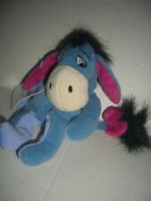 "The Disney Store stuffed Eeyore the Donkey-Mini Bean Bag Toy 8""-Marked Down"