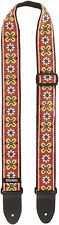 Dunlop D6703RD Jacquard Strap, Avalon Red