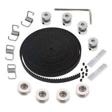5Mx6Mm Gt2 Timing Belt +4Pcs 20 Tooth 5Mm Inner Diameter Pulley +4Pcs Idler G4E8