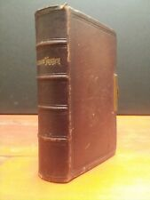Antique Book of Common Prayer 1869, Protestant Episcopal, Appleton & Co New York