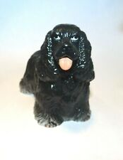 New-Ray Vintage Rubber Dog  00004000 Figure American Cocker Spaniel