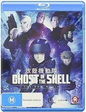 Ghost In The Shell: New Movie (2016, REGION ALL Blu-ray New)